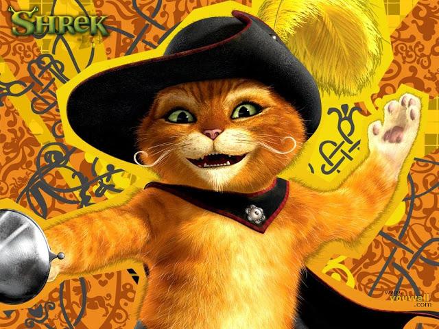 кота из мультфильма шрек